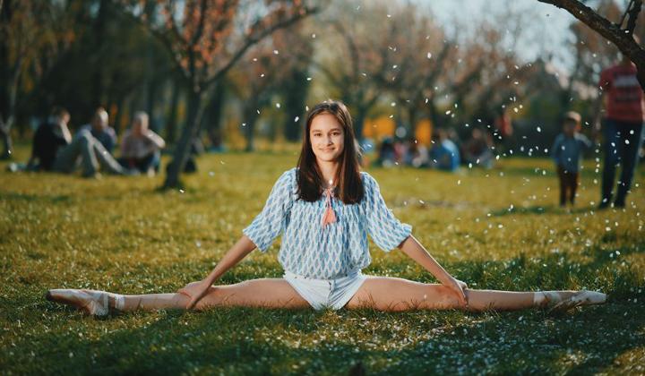 炎炎夏日来一丝清凉 春天里的芭蕾舞者