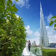 迪拜创意婚纱照旅拍