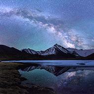 翻雪山过冰河 只为天堂的星河
