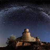 星空之下 西班牙迷人夜空