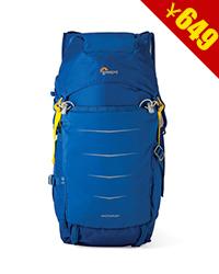 乐摄宝新款Photo Sport BP 200 AW II户外双肩摄影包单反相机包 蔚蓝色 包邮