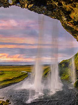 冰岛  彩虹极光之国