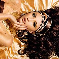 如埃及女王般的美艳女神