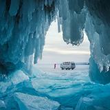 贝加尔湖蓝冰之旅