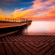 墨尔本海湾美景