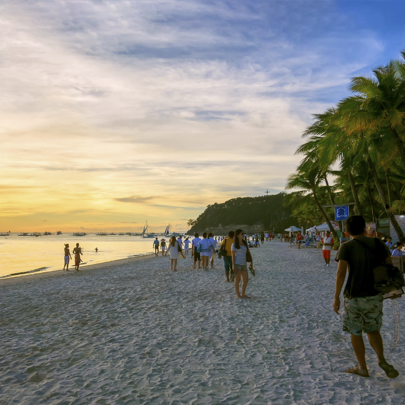 菲律宾长滩魅影