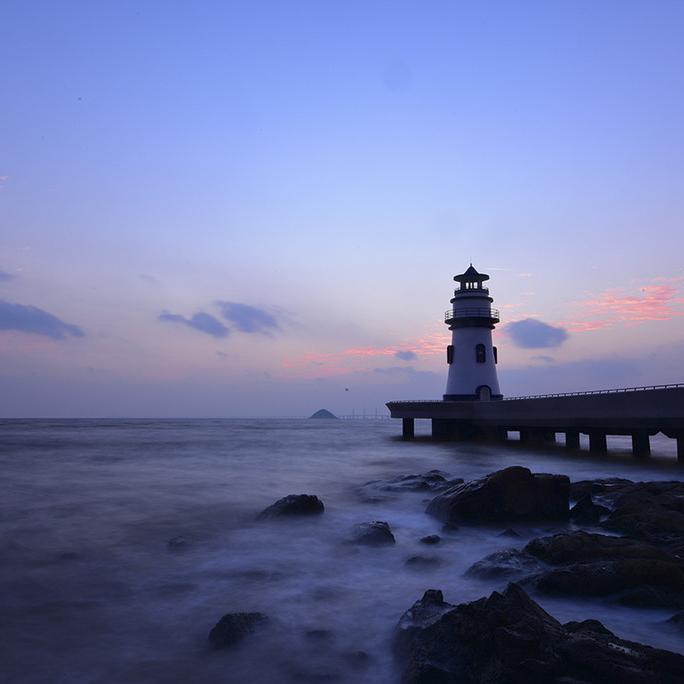 珠海海滨梦幻灯塔