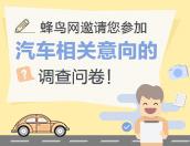蜂鸟网用户对汽车相关意向问卷调查