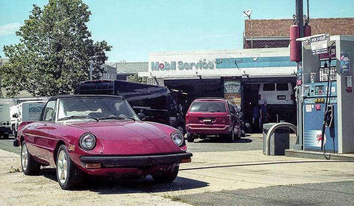 寻找身边的复古风 纽约街头的那些古董车们