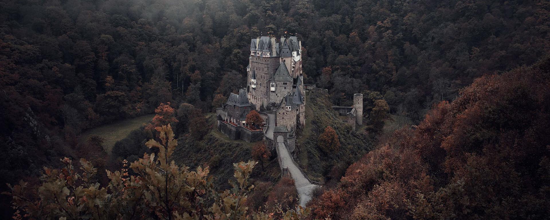 藏匿于山林的梦幻城堡