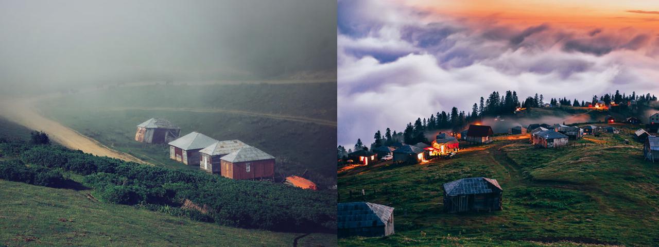 云雾笼罩的仙境