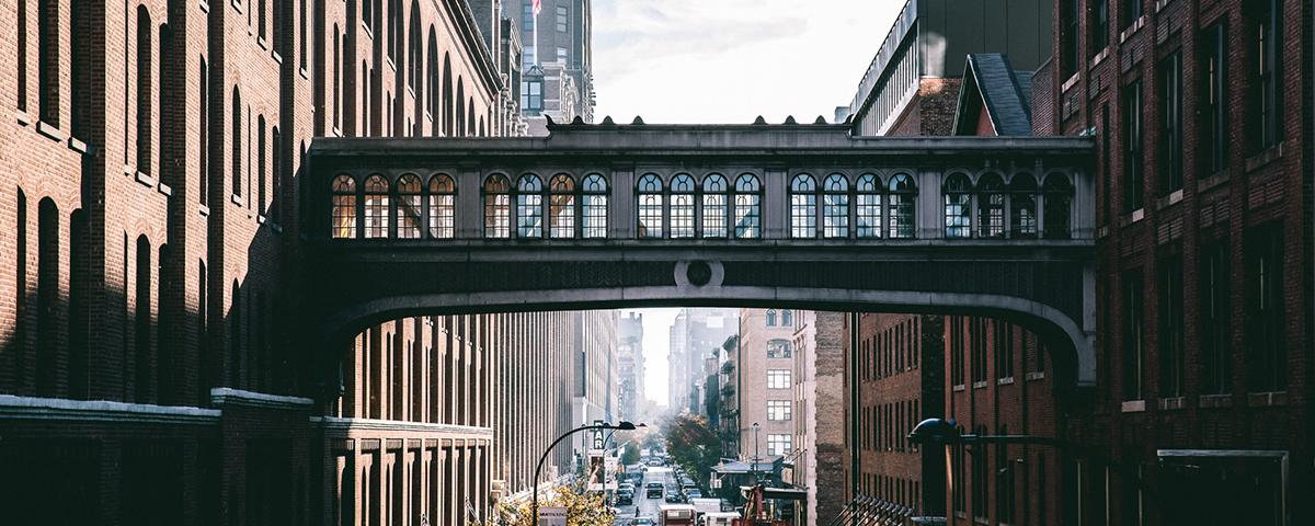 宛如电影般的纽约街头