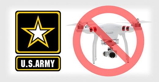 担心网络漏洞 美军停止使用大疆相关产品