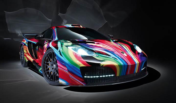 艺术与速度 Hamann艺术涂装版运动豪车