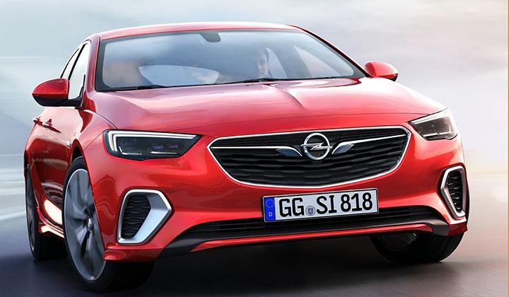 德国版君威GS 2018款欧宝Insignia GSi