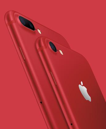 红色如期而至 苹果发布iPhone7新配色