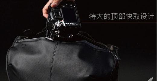 东京黑系摄影包 精嘉轻奢邮差包限量售1850