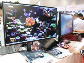 P&E2015:精准色 华硕4K高端LCD新品展示