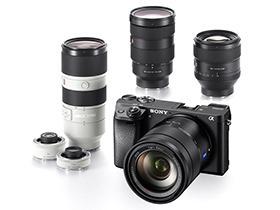 索尼微单A6300与全新高端G系列镜头发布