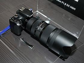 CP+2016:F1.8变焦镜 适马50-100真机图赏