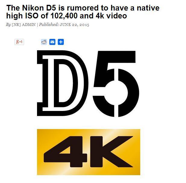 尼康在发布D4S之后,在顶级产品线上已经很久没有进行更新。而相关的最新消息中提到,尼康将在今年年底左右发布最新一代的顶级DSLR产品D5。而目前这款产品已经在进行测试中,目标是明年的巴西里约热内卢夏季奥运会。(外网相关内容报道)  尼康D5数码单反相机相关纪念性LOGO   全新D5的预计配置将会高于D4S,具体包含全新的2000万像素级别传感器,173个自动对焦点,最高连拍15fps。另外,这款机器还可以拍摄4K级别的视频,原生最高感光度可以到ISO 102400,最高扩展感光度可能将会达到大概IS