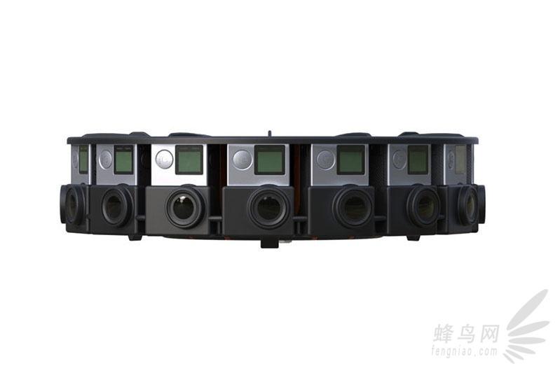 gopro推出可拍摄360全景,8k视频的支架