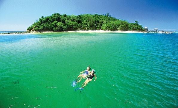 了马来西亚沙巴,热浪岛