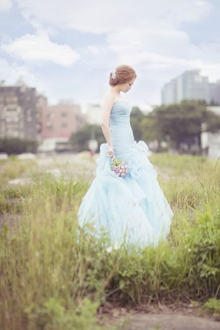 淡雅唯美风格 自己也能拍出日韩风婚纱照
