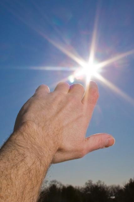 拍出太阳光芒的技巧