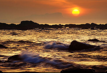 如何拍摄日出日落