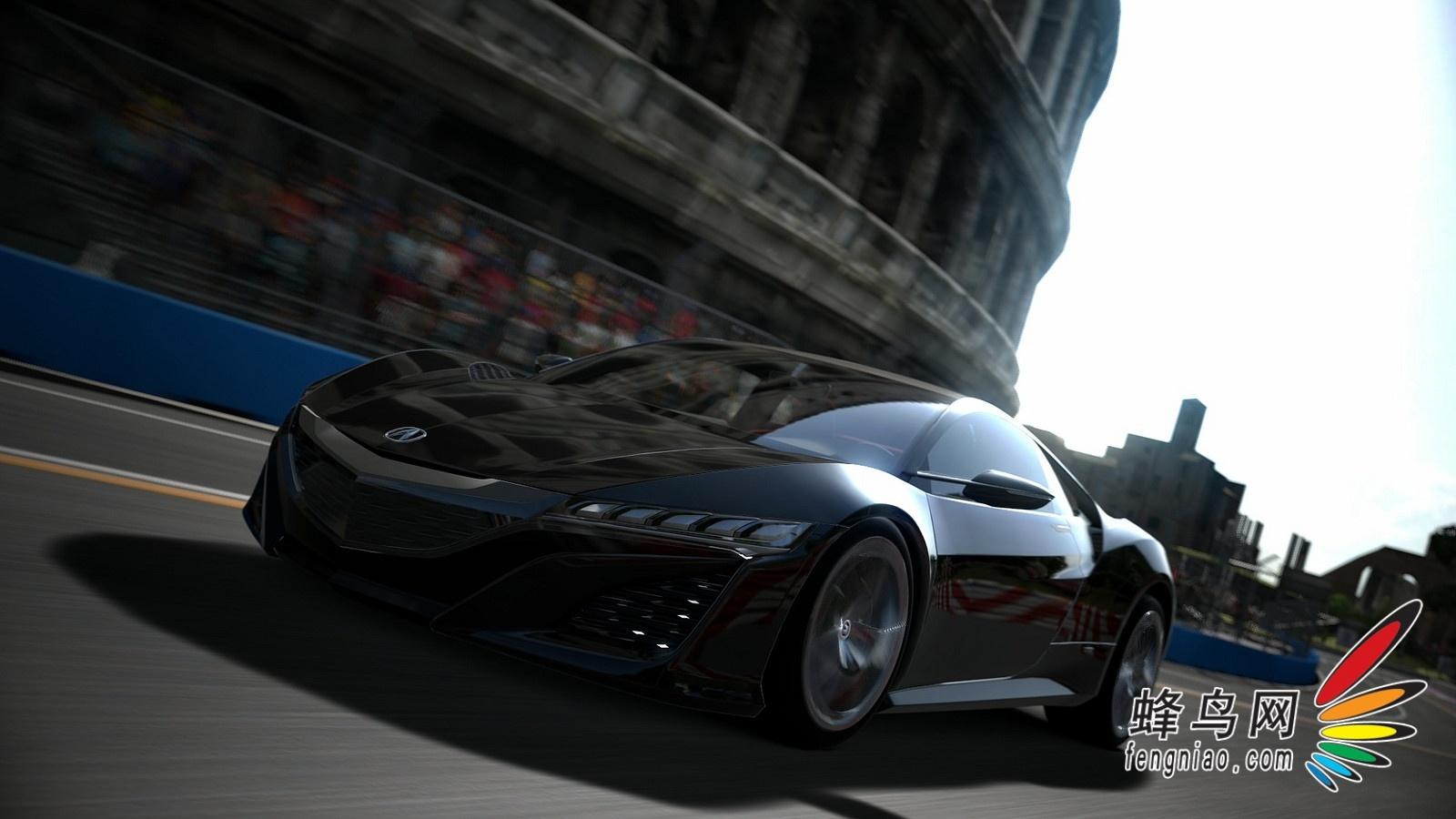 飞奔于虚拟世界 讴歌nsx概念车登陆gt赛车6高清图片