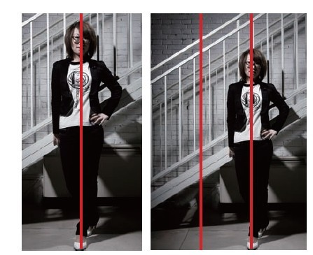 垂直线构图适合拍摄哪些场景?