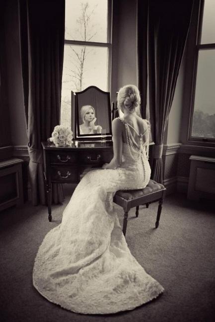镜子在婚纱摄影中的各种妙用