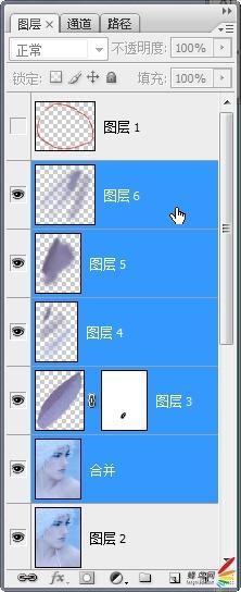 Adobe Photoshop肖像修饰技巧之高调人像(中)