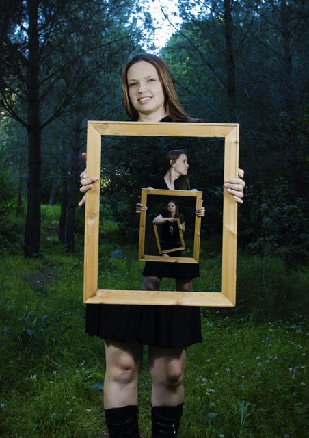 梦幻大片显露真身 教你如何拍出框架人像