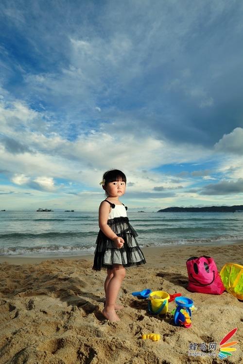 儿童节的大海 看拍娃党如何玩灯