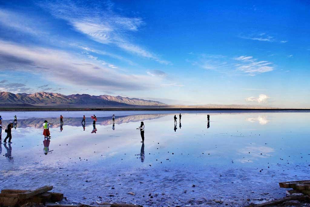 七月环游青海湖