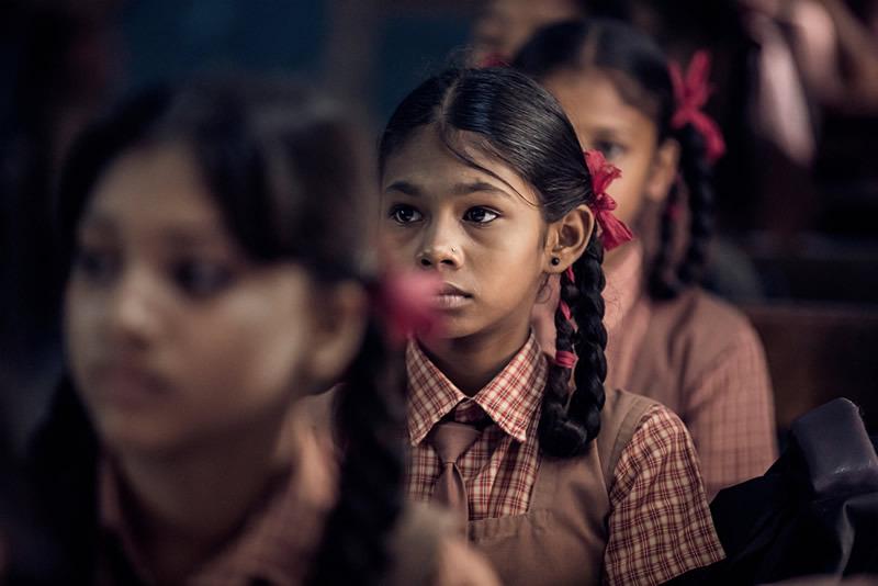印度真实学校生活 怀旧照片回到纯真时代