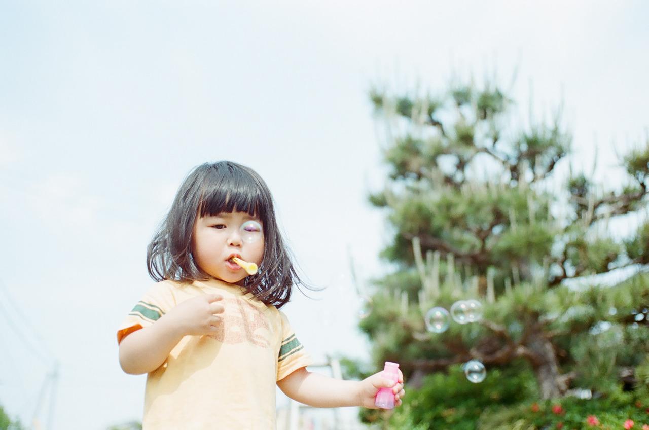 治愈日系儿童摄影 同胞姐妹花的呆萌日记