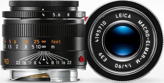 徕卡90mm f/4微距镜头+微距环售价19500