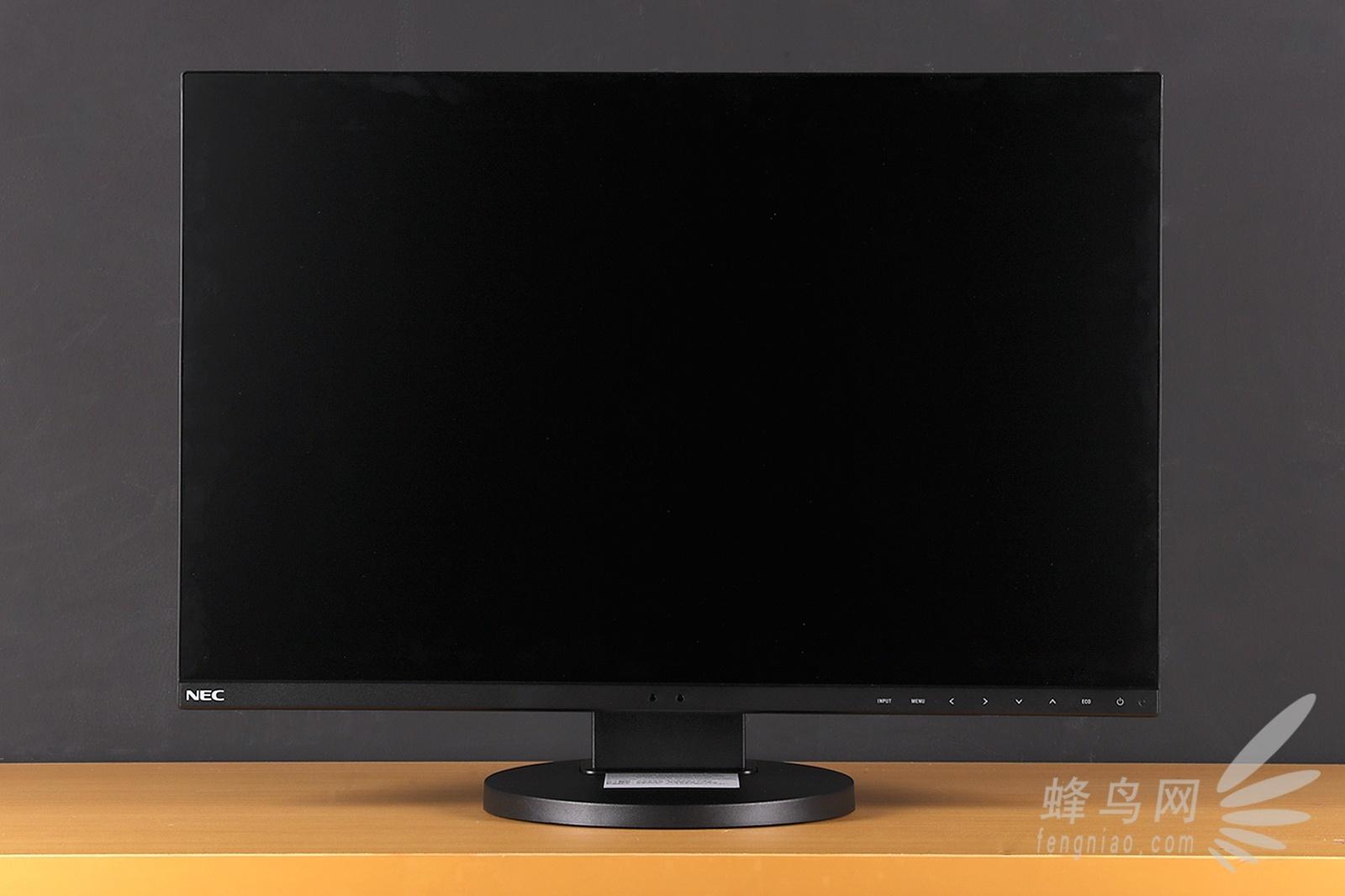 虽然其采用了24寸的屏幕,但由于这台显示器采用了超窄边框设计