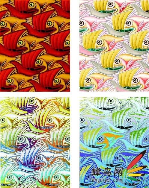 ps色彩构成与应用-优秀作品欣赏点评