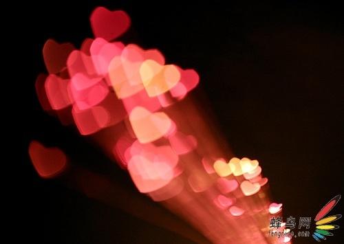 情人节来临 教你如何拍出心形灯火