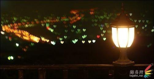 甜蜜情人节 教你如何拍出心形灯火