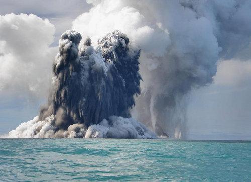 极恐怖 海底火山爆发