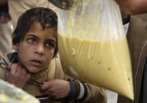 黑镜头直击灾难中的儿童