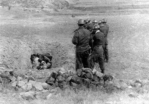 韩国军方残杀平民旧照