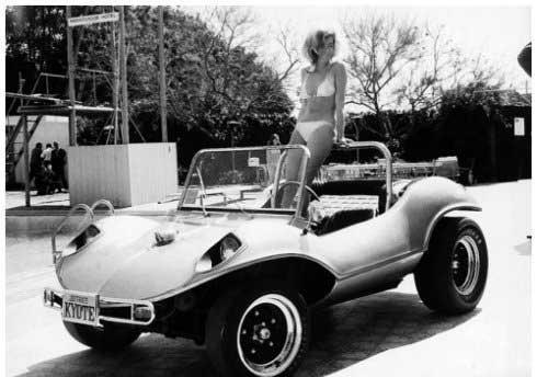 上世纪的惊艳车模