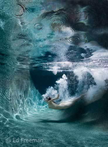 幻美的水下人体摄影作品