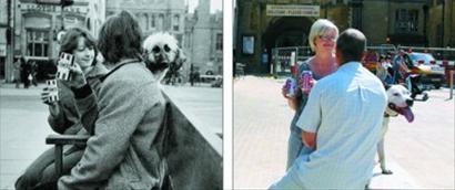 """[趣闻]英摄影师时隔30年再拍""""画中人"""""""